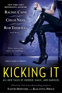 Kicking It Anthology Cover