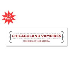 chicagoland_vampires_quote_bumper_bumper_sticker